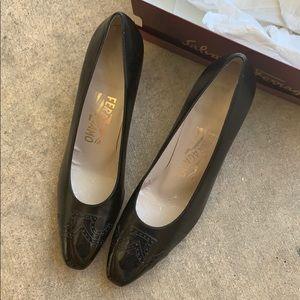 Salvatore Ferragamo Heels Size  9.5AAAA NIB